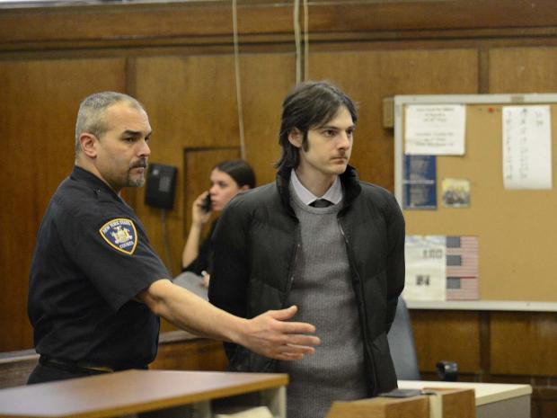 The man accused of keeping bomb-making materials in a West 9th Street apartment appeared in court Jan. 4, 2013.