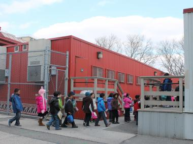 The city will build an addition at crowded P.S. 11, which has used portable classrooms for over a decade.