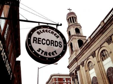 The longtime record store's space is available for rent for $27,000 per month, its exclusive broker said on Jan. 15, 2013.