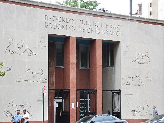 Brooklyn Public Library officials plan to sell the Brooklyn Heights branch to the highest private bidder.