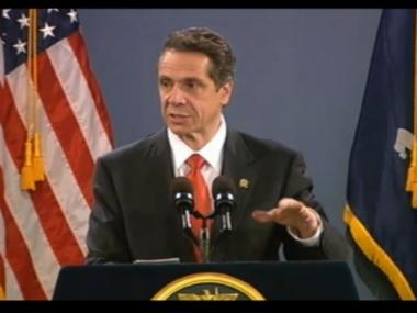 Gov. Andrew Cuomo signed the NY SAFE Act into law Jan. 15, 2013.