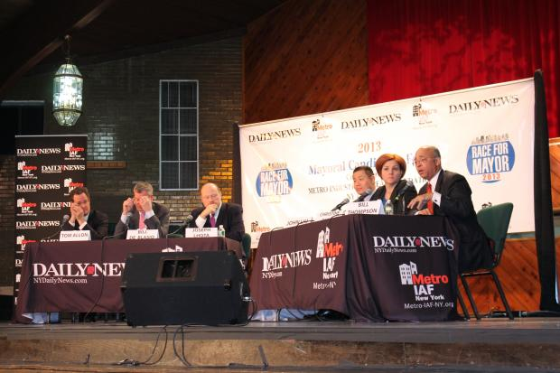 Daily News Mayoral Candidates Housing Forum