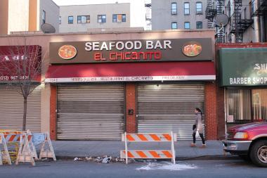 Community Board 11, area residents and police are advocating against the renewal of Seafood Bar El Chicanito's beer and wine license because of fights, noise and possible illegal activity at the location on East 112th Street, between Lexington Avenue and Third Avenue.