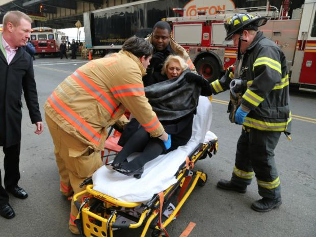 Nearly 60 people were injured after a packed commuter ferry crashed into a dock at Pier 11 on Jan. 9, 2013.