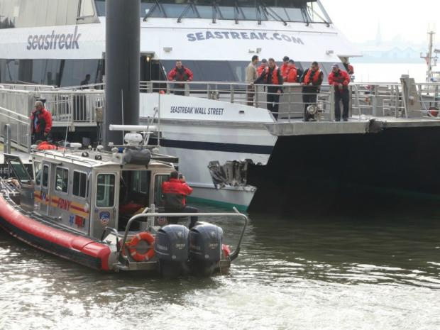 Seastreak LLC, the firm that owns the ferry that crashed in Wall Street Wednesday morning, has had at least 11 incidents involving its fleet over the past decade.