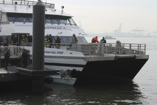 Seastreak, the ferry company involved in the crash that hurt dozens the week before, was set to resume service Monday.