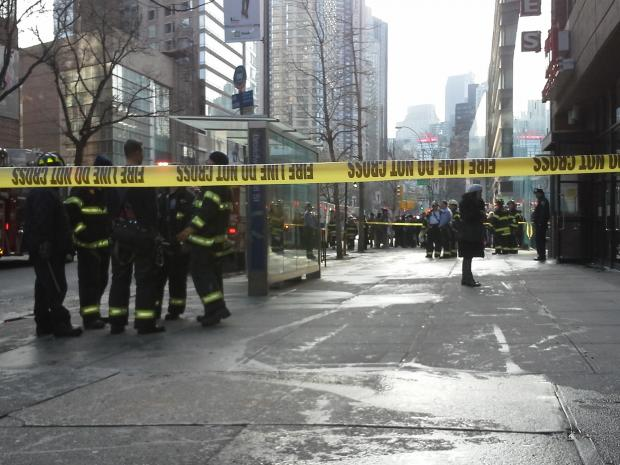 A fire broke out inside of Ollie's Noodle Shop and Grille, located at 1991 Broadway, about 9:45 a.m. Thursday January 3, 2013, the FDNY said.