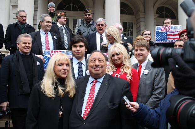 Billionare Candidate John Catsimatidis launched his bid for mayor on Tuesday, Jan. 29, 2013.