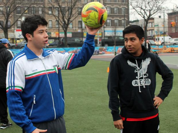 Four friends in Sunset Park, one the son of a former pro soccer player, are preparing to launch a soccer-training co-op this spring.