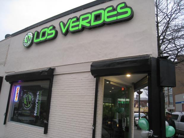 Colombian Restaurant Los Verdes Opens New Location In