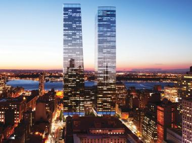 Manhattan West will eventually house two skyscrapers and a residential building.