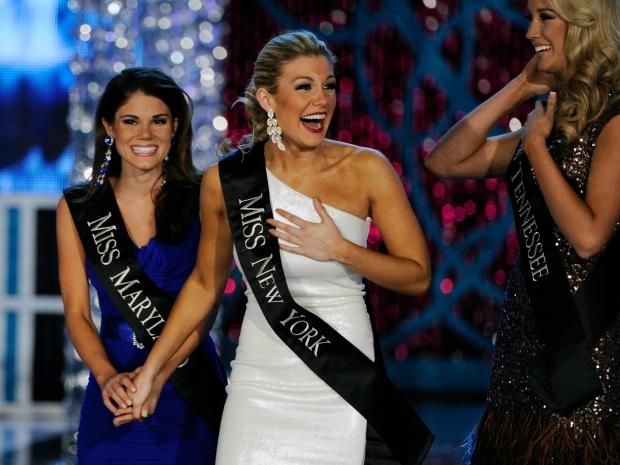 Mallory Hagan, a 23-year-old Park Slope resident, was crowned Miss America 2013 in Las Vegas, N.V., on Saturday Jan. 12, 2013.