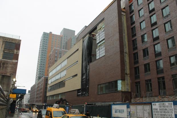The school had to move to the Upper East Side because of construction.