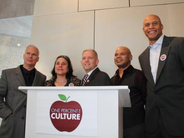 One Percent for Culture seeks to have one percent of the city's annual budget slated for cultural groups.