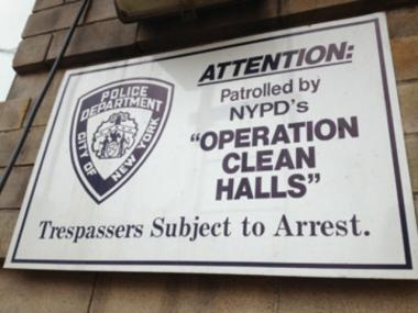 "A U.S. District Court judge ruled Jan. 8, 2013 that police cannot stop and arrest people outside certain Bronx buildings without ""reasonable suspicion"" of trespassing."