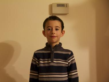 Peter Whalen, 6, a third-grader at P.S. 50 in Oakwood, said that he's had headches and felt nausea since a PCB light ruptured over him in his classroom.
