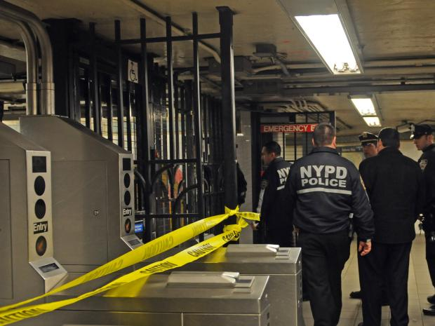 One man was killed and another was hurt in unrelated incidents at the 125th Street 4/5/6 station.