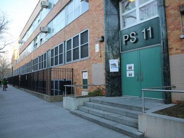 P.S. 11, at 419 Waverly Avenue, had the highest number of students who passed the English Language Arts and math exams in District 13.