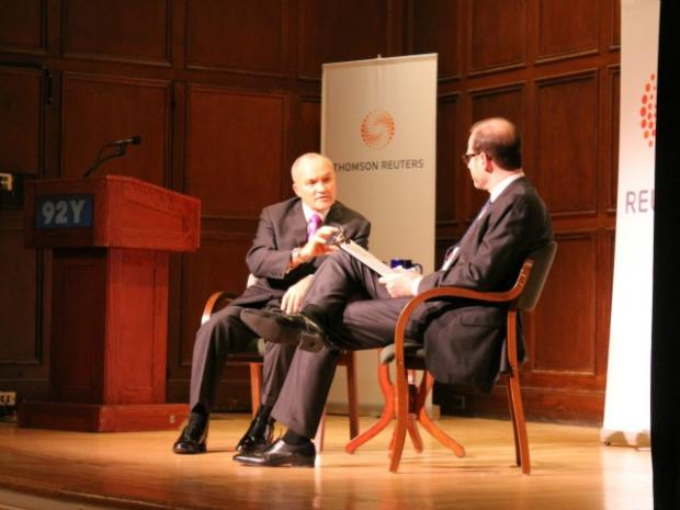 Ray Kelly Speaks at the 92nd Street Y