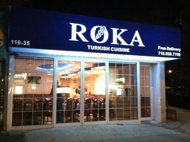 A new Turkish restaurant recently opened in Kew Gardens.