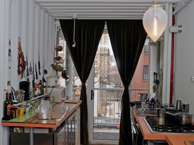 couple builds home out of shipping containers in williamsburg