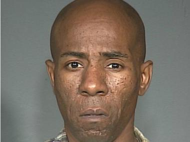 Cops said Dimitrius Senior, 48, exposed himself on an E train in Forest HIlls on Jan. 2, 2013.
