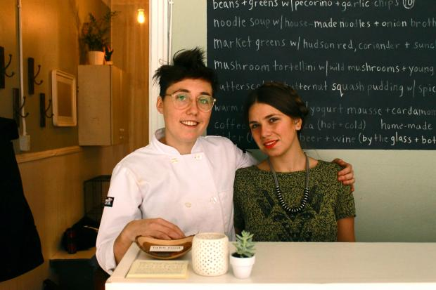 Two Park Slope residents started a joint business combining their passion for yoga and food.