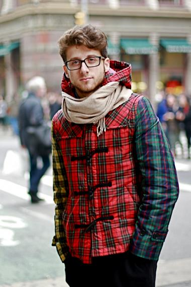 Tracking the tartan trend for the forthcoming New York Fashion Week in February.
