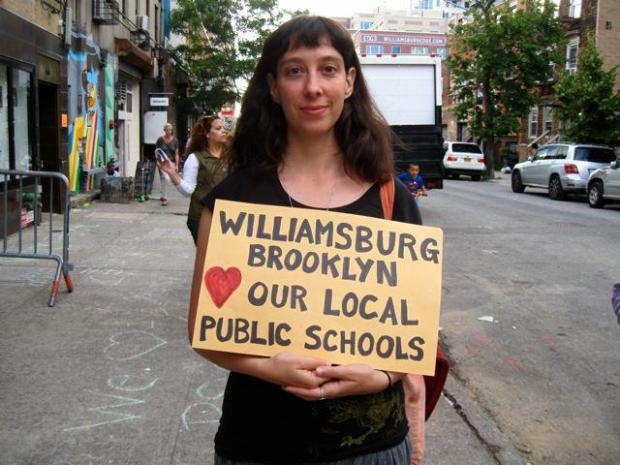 WAGPOPS (Williamsburg and Greenpoint Parents for Our Public Schools) is suing the state for approving Citizens' charter.