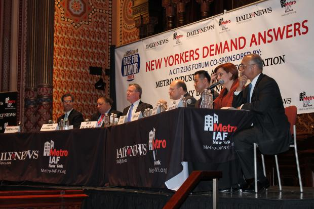 2013 Daily News Education Debate