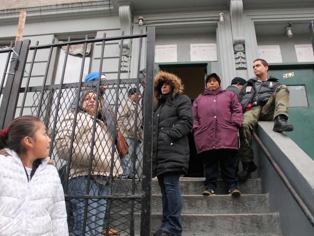 Resident of three Washington Heights buidlings have been without electricity or heat for two weeks.