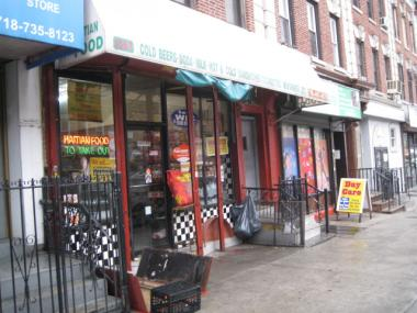 Police say the basement of a Prospect-Lefferts Garden grocery store was taking horse-racing bets in July 2012.