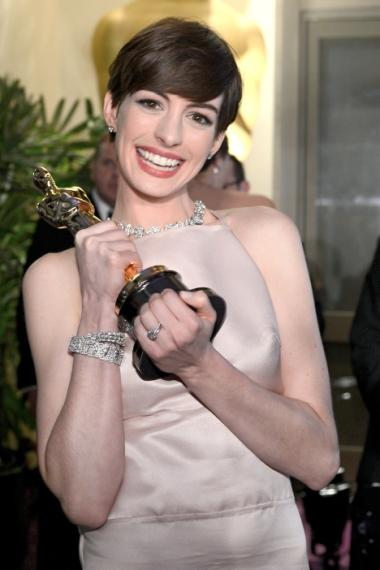 Anne Hathaway mentioned Crosby Street in her Feb. 24, 2013, Oscar acceptance speech.