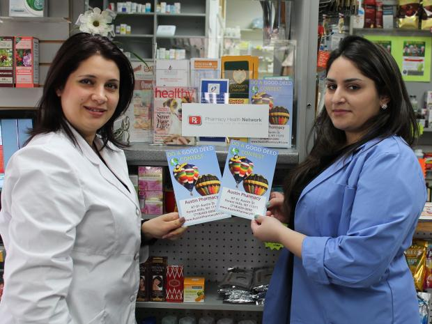 A local pharmacy is hoping to encourage children to write.