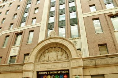 Bellevue Hospital is now accepting patients seeking critical care and all 828 inpatient beds are open.