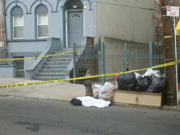Police found bags strewn about a South Bronx neighborhood containing human remains.