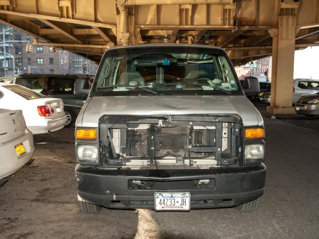 A 13-year-old boy was struck and critically injured by a van at the intersection of Park Avenue and Cumberland Street in Brooklyn at about 6:45 a.m. on Wednesday Feb. 13, 2013.