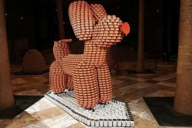 """Canstruction"" brings towering sculptures made entirely of cans to the World Financial Center Winter Garden in this popular annual event. Teams compete to build creative structures out of the non-perishable foods, which are all donated to the hungry. The event usually takes place before Thanksgiving, but because of Hurricane Sandy, it was postponed this year. Open 10 a.m. to 6 p.m. daily, from Feb. 1 to Feb. 11."