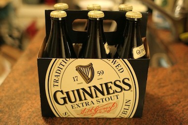 Guinness, which sponsors the St. Patrick's Day Parade, became a target for gay rights groups after Boston Beer Company and Heineken dropped sponsorship of St. Paddy's Day parades with policies that barred participation by openy gay participants or groups.