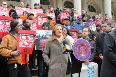 Manhattan Councilwoman Melissa Mark-Viverito is considered the early frontrunner in the race to be the next speaker of the city council.