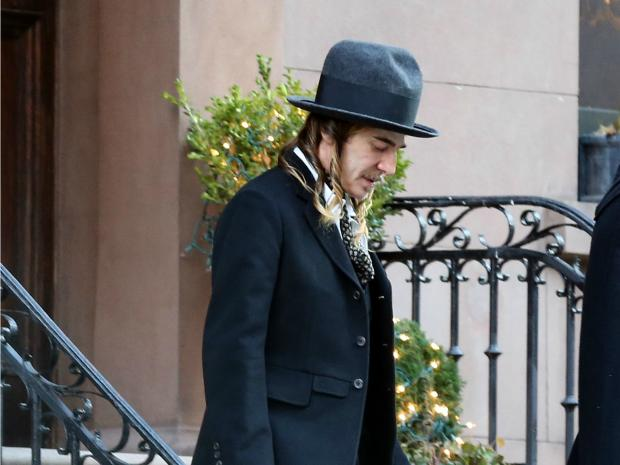 Onetime Christian Dior designer John Galliano offended Jewish leaders with his wardrobe choice on Tuesday Feb. 12, 2013.