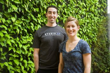Jared Kaplan and Whitney Tucker are co-founders of Studio 26 in Chelsea.