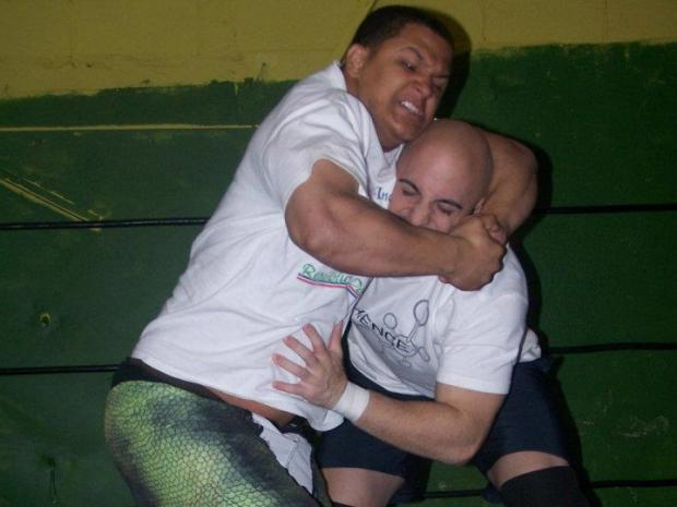 The city says Ludus Wrestling Center in Gowanus is selling booze without a permit.
