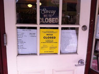 Mice and rats' feces were found on Feb. 14, 2013 inside Magnolia Bakery, and the Health Department shut the shop down.