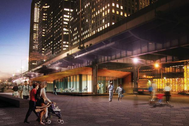 The East River waterfront esplanade is slated for completion in 2014.