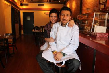The executive chef of Sean Avery's famed Warren 77 pub in TriBeCa has opened Cafe Zona Sur, gourmet cafe and restaurant in the heart of Sunset Park that serves pastries, sandwiches, coffee, and wines in a sunlit storefront featuring exposed brick walls and handsome hand-crafted wooden tables.