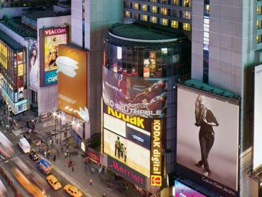 The Marriott Marquis Is Located At 1535 Broadway In Times Square And A Suit By
