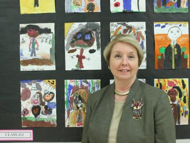 Maureen Guido believes that music and art complement math and science at P.S. 278