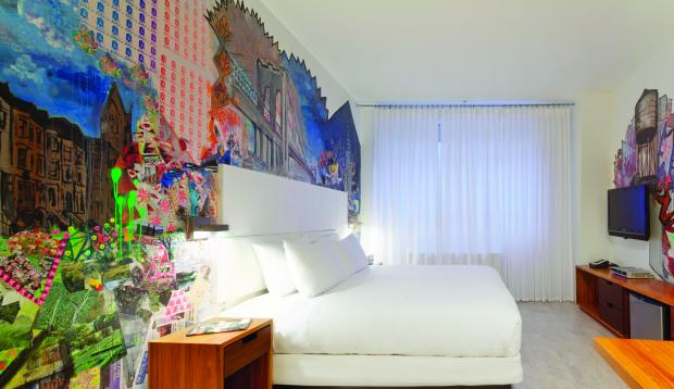 The boutique hotel is hosting an art opening for their latest mural project featuring Brooklyn artists.
