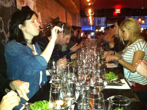 A new class at Terroir wine bar aims to take the stuffiness out of wine.